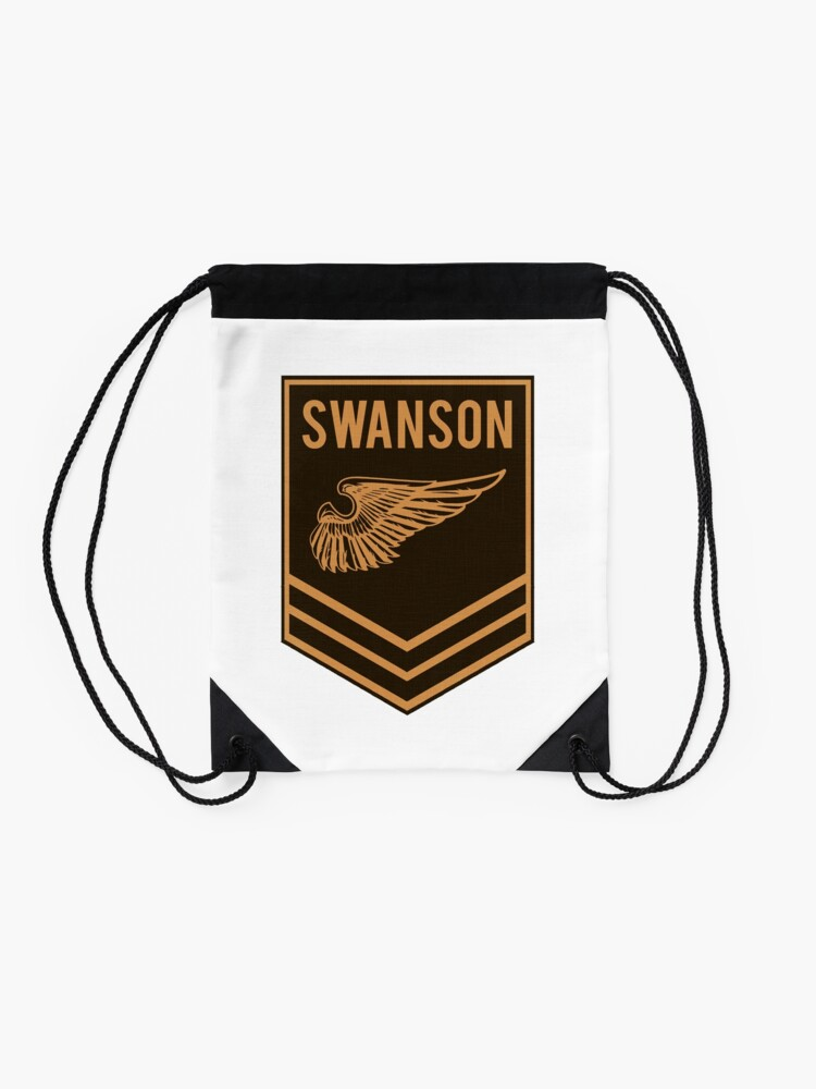 Alternate view of Parks and Recreation - Swanson Ranger Club Drawstring Bag