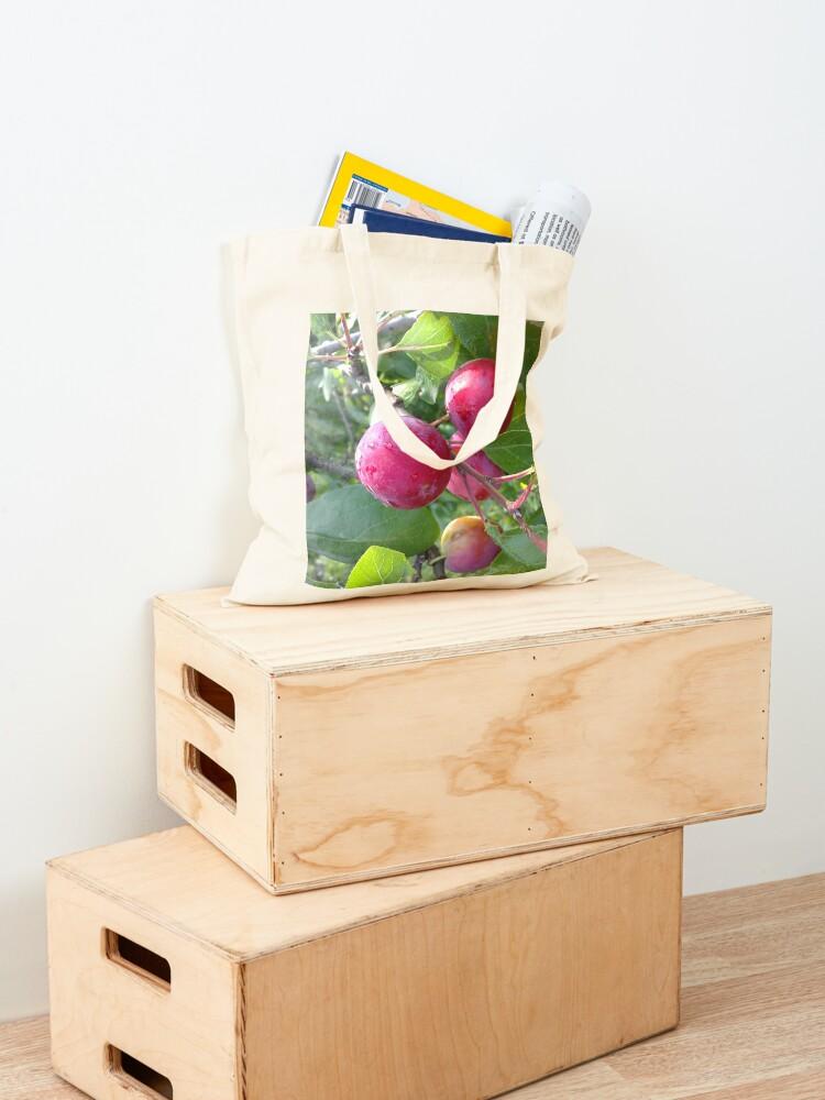 Alternative Ansicht von Schöne Renekloden Stofftasche