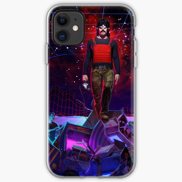 DrDisrespect dominating the digital realm iPhone Soft Case