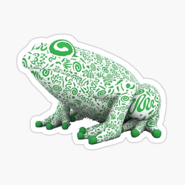 Vampire Weekend Frog Sticker