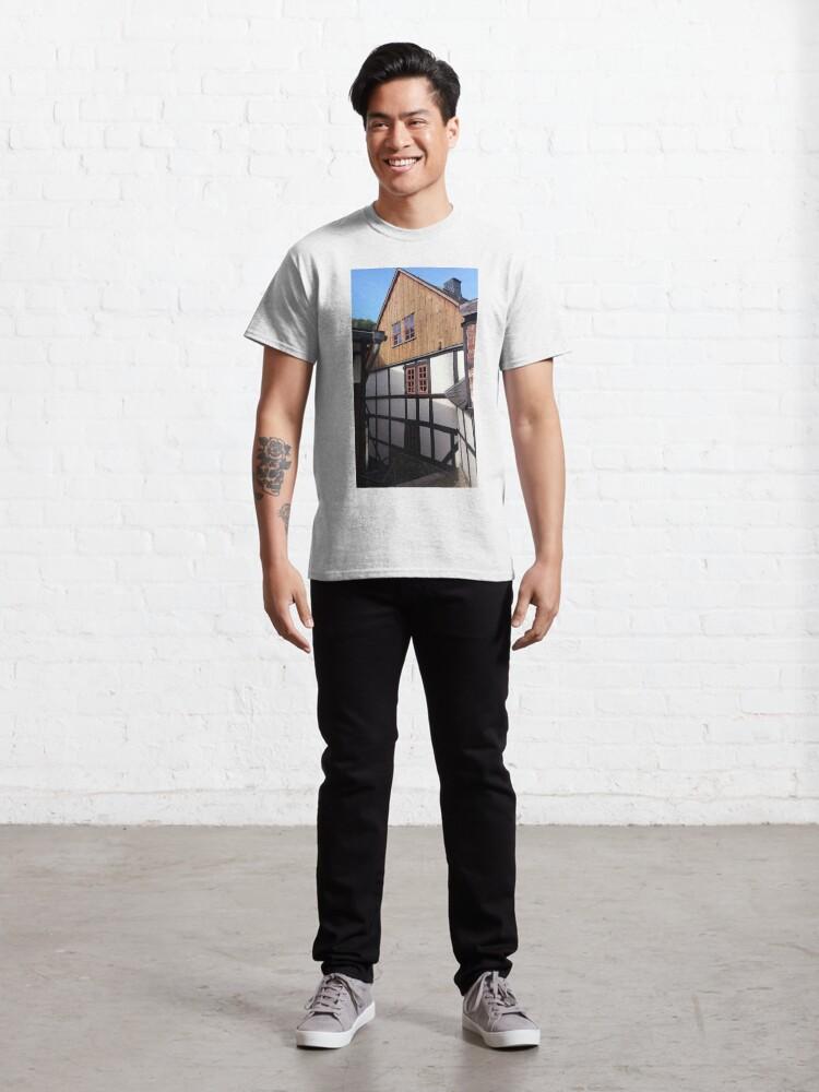 Alternative Ansicht von Fachwerkhaus in Stolberg / Harz Classic T-Shirt