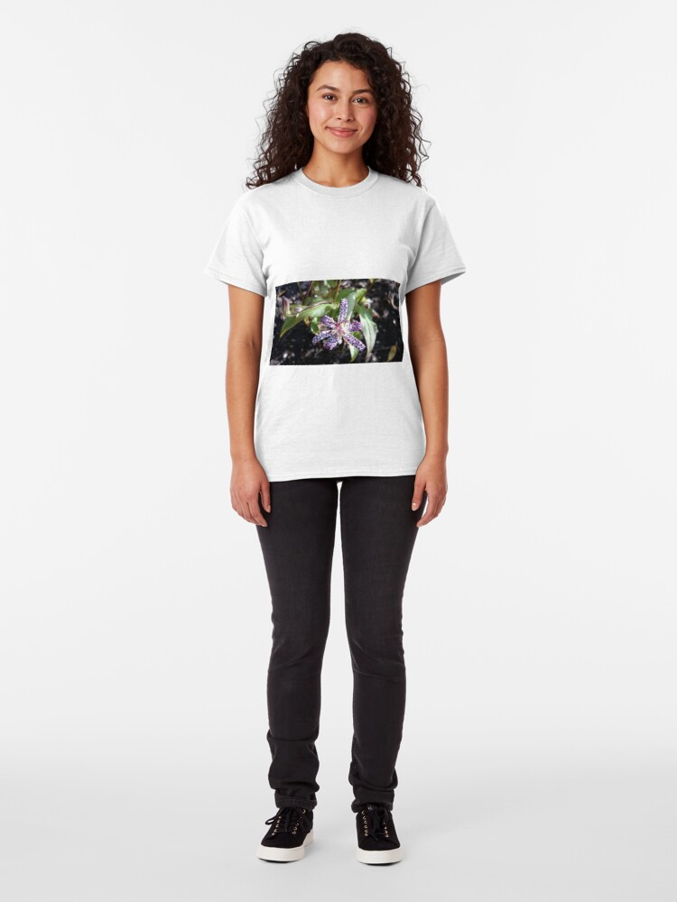 Alternative Ansicht von Kröten-Orchidee Classic T-Shirt