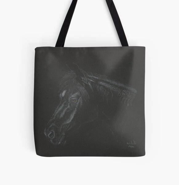 Le Noir, looking left All Over Print Tote Bag
