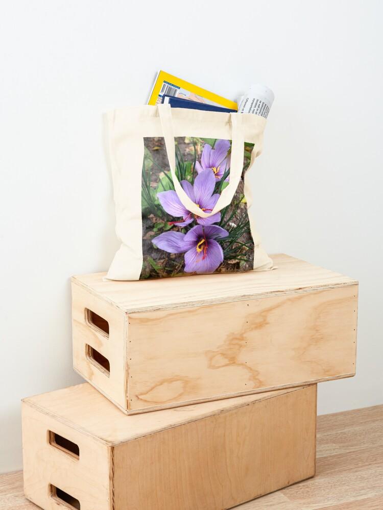 Alternative Ansicht von Safran Stofftasche
