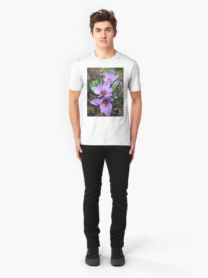 Alternative Ansicht von Safran Slim Fit T-Shirt