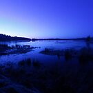 blue water by imagegrabber