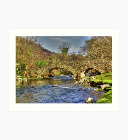 River Duddon Bridge - Lake District Art Print