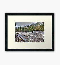 River Ure - Aysgarth-Yorks Dales Framed Print