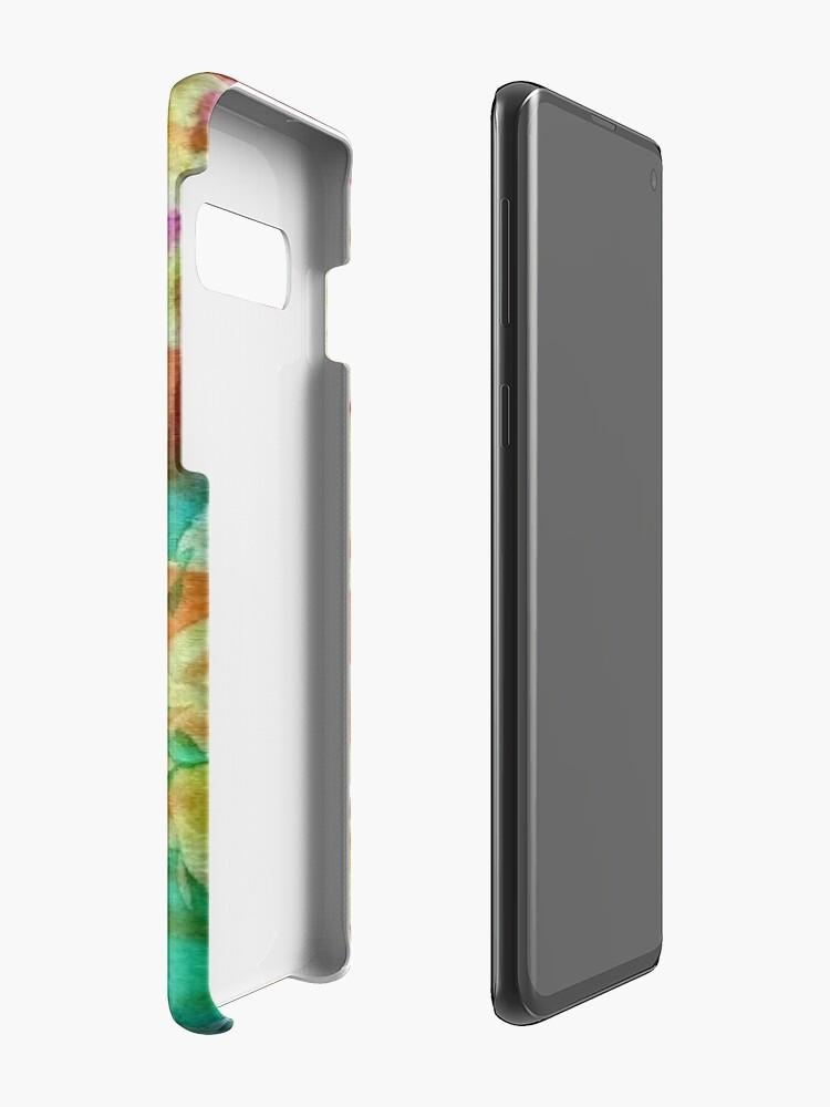 Alternative Ansicht von Batik 4 Hülle & Klebefolie für Samsung Galaxy