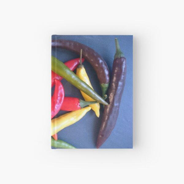Bunter Chili Notizbuch