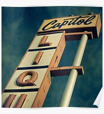 Capitol-Cross Processed Poster