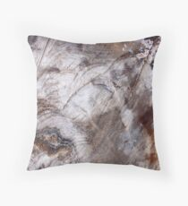 Wood in Abstract Throw Pillow