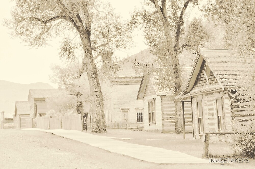 Bannack Historic District by IMAGETAKERS