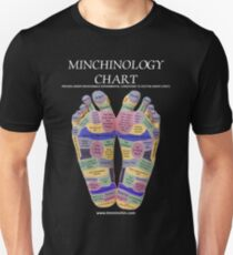 The Angry Feet Minchinology Chart version 2 Unisex T-Shirt