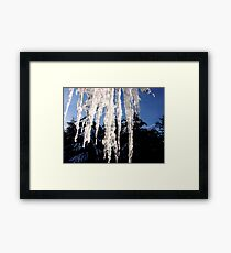Ice, Ice, Ice Framed Print