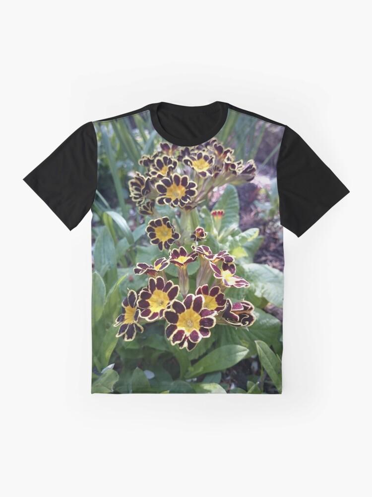 Alternative Ansicht von Primel im Frühling Grafik T-Shirt