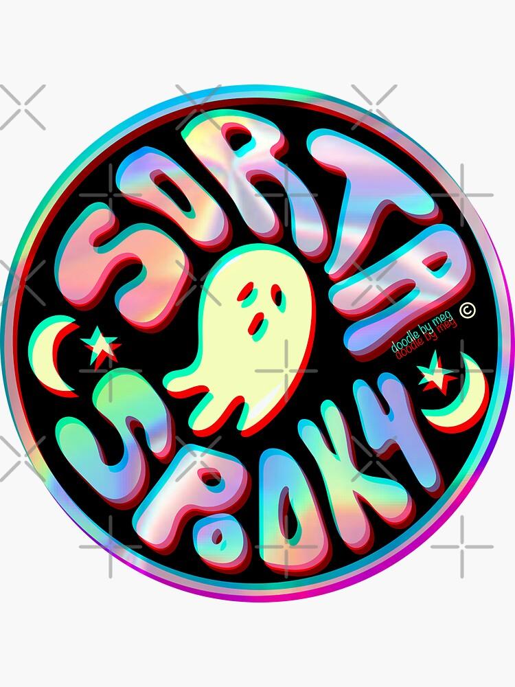 Holo Sorta Spooky ©  by doodlebymeg
