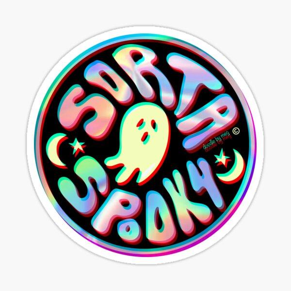 Holo Sorta Spooky © Pegatina