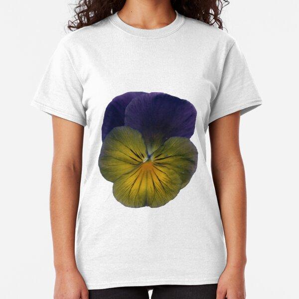 Stiefmütterchen-Blüte Classic T-Shirt