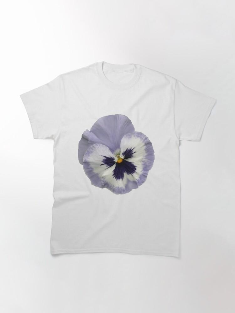Alternative Ansicht von Stiefmütterchen-Blüte 2 Classic T-Shirt