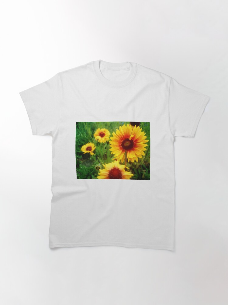 Alternative Ansicht von Maler-Blume Classic T-Shirt