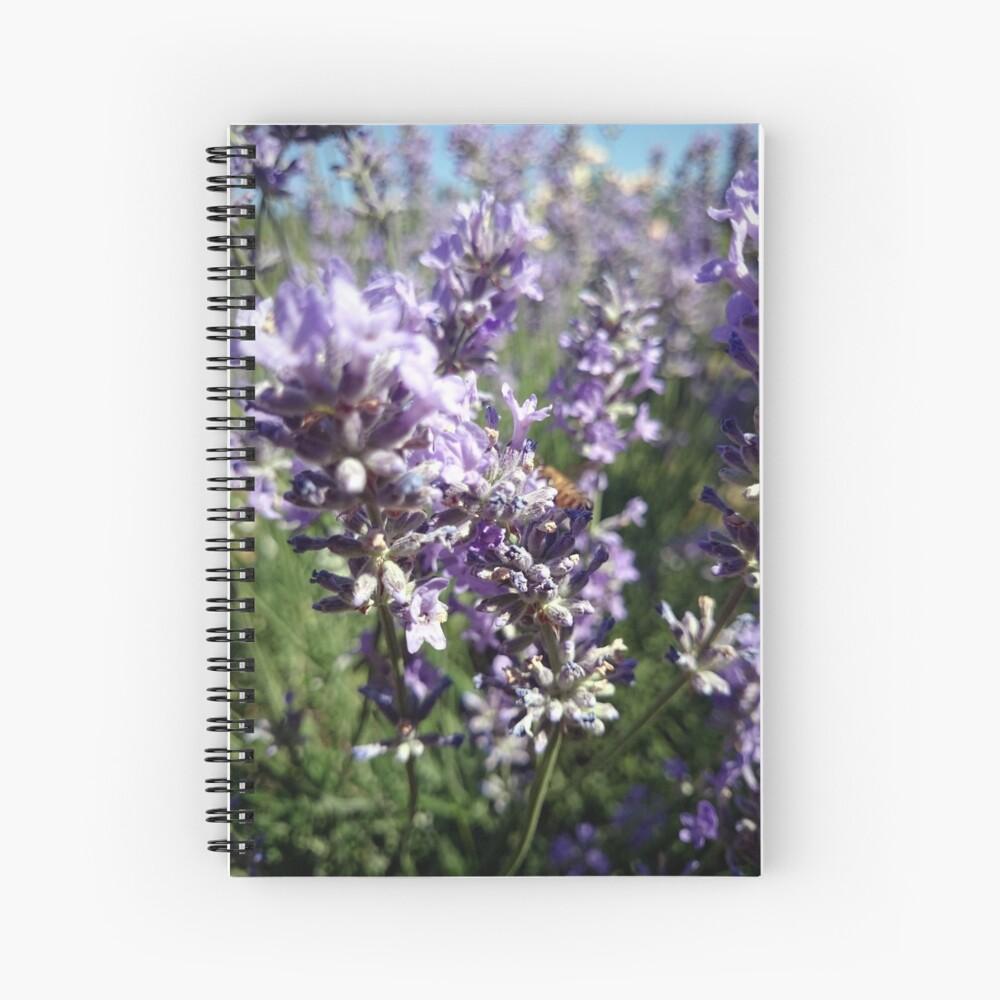 Lavendel Spiralblock