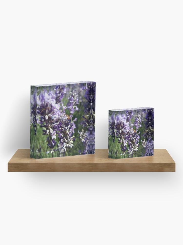 Alternative Ansicht von Lavendel Acrylblock