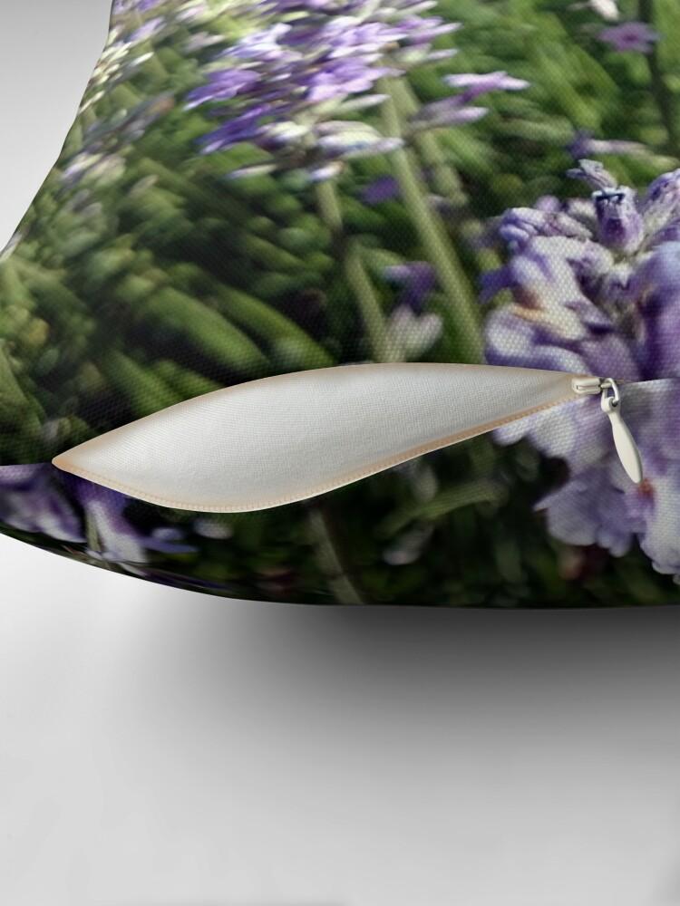 Alternative Ansicht von Lavendel Dekokissen