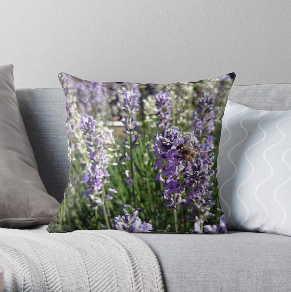 Lavendel Dekokissen