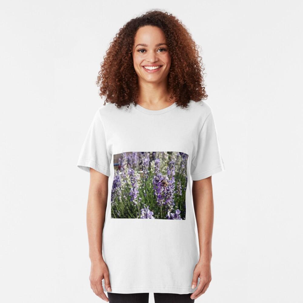 Lavendel Slim Fit T-Shirt