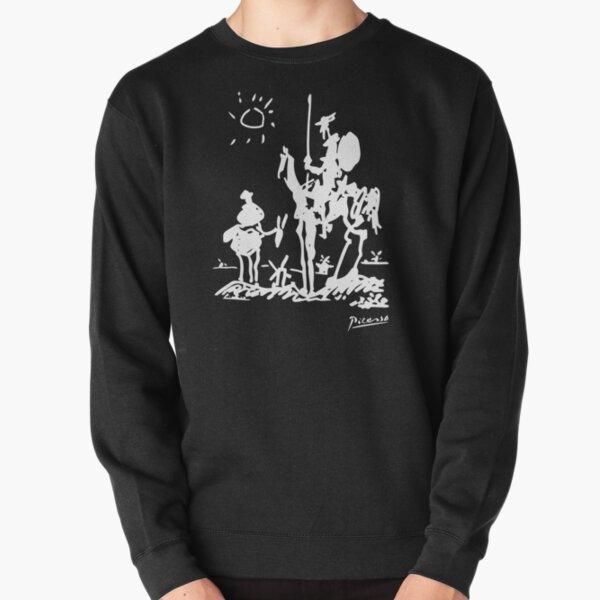Pablo Picasso Don Quixote 1955 Artwork Shirt, Reproduction Pullover Sweatshirt