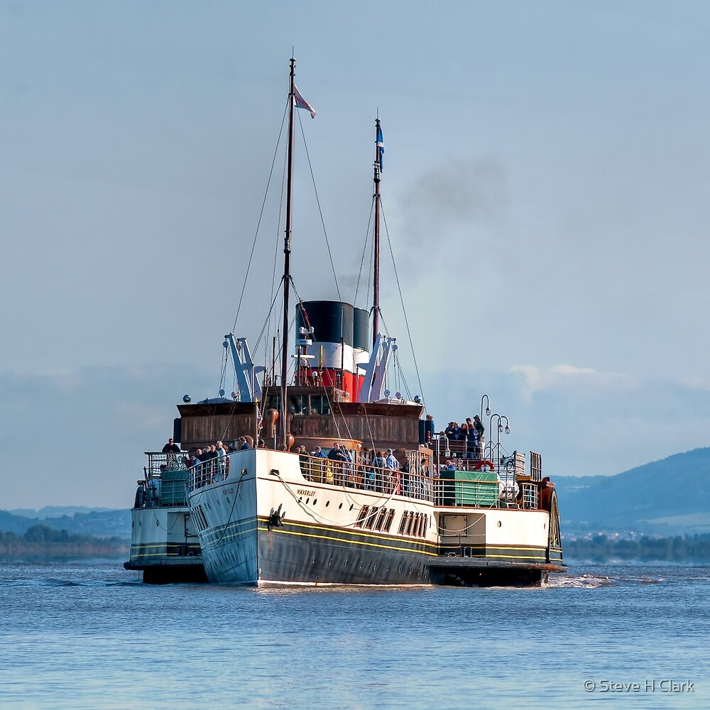 Paddle Steamer Waverley by © Steve H Clark