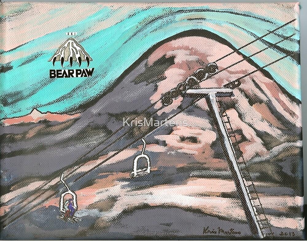 Ski BEAR PAW by KrisMartens