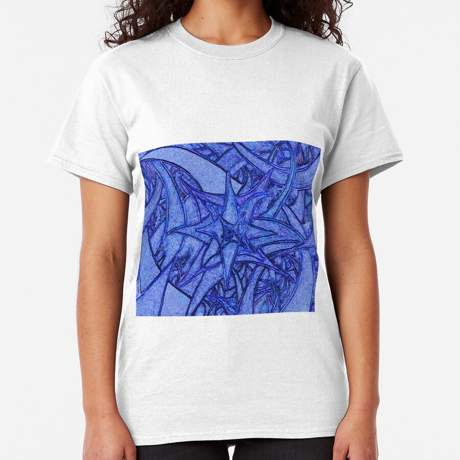 Unknown Internal Vision [Abstract #52] BLUE Classic T-Shirt