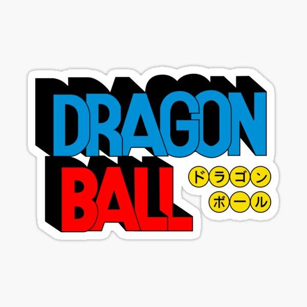 Dragon ball Sticker fini brillant