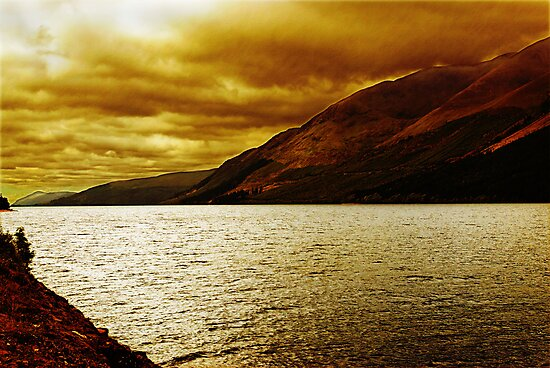 Loch Ness, Scotland, UK by David Carton