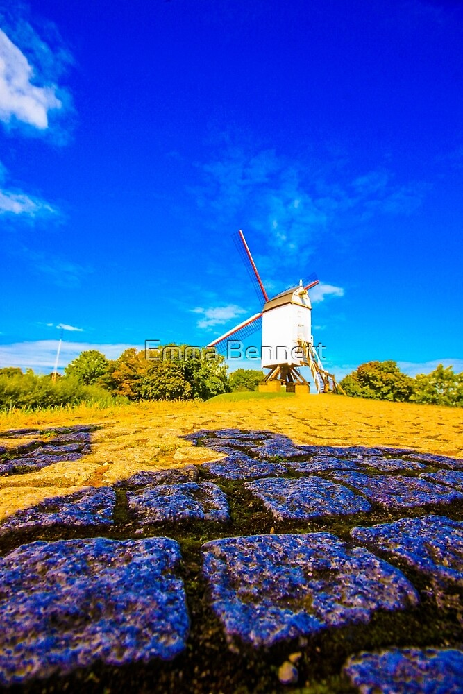 Bruges Windmill by Emma Bennett