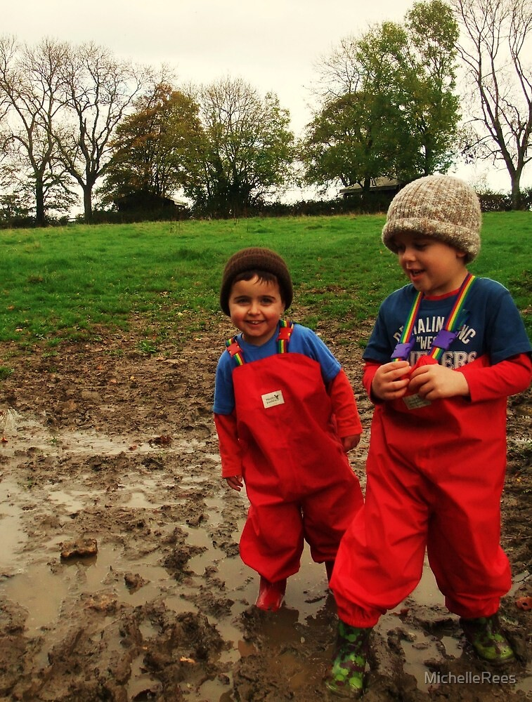 Muddy Play on the farm! by MichelleRees