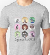 Captain Pancakes at his finest. Unisex T-Shirt