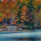 Autumn Colors at Kearney Lake by kenmo