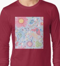 dewdrops in the garden Long Sleeve T-Shirt