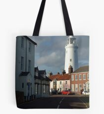 This way to the Lighthouse Tote Bag