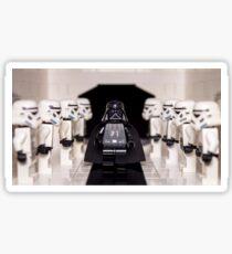 Darth Vader & Stormtroopers Sticker