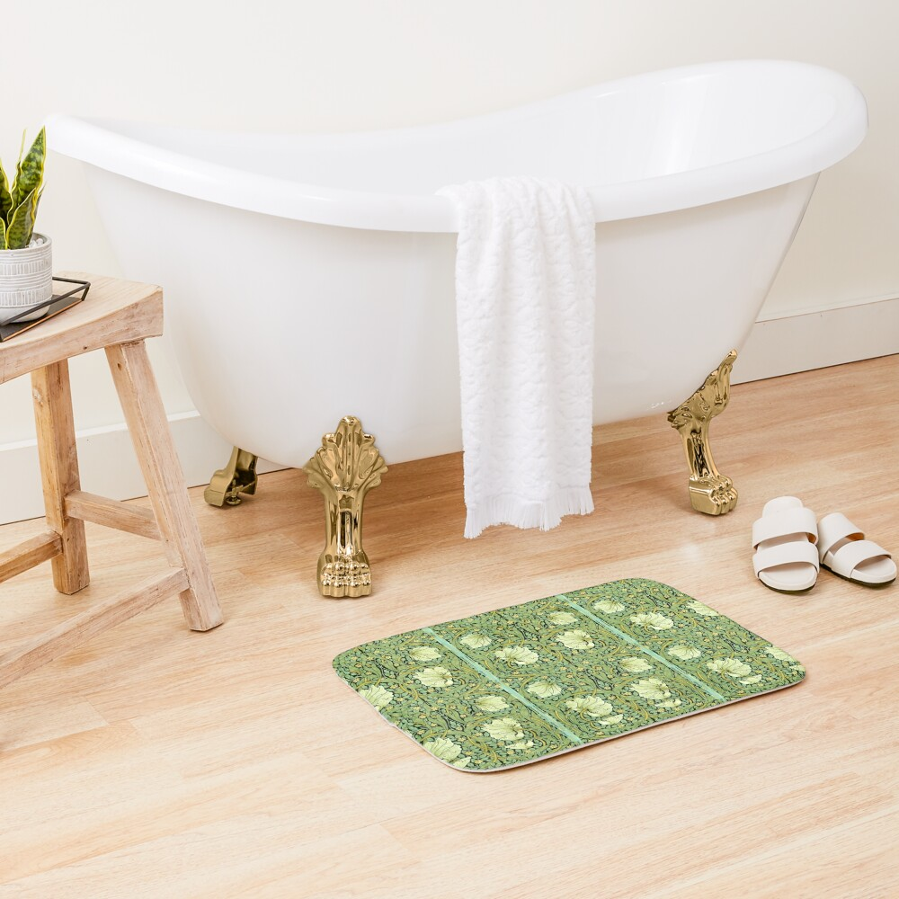William Morris Pimpernel  Bath Mat