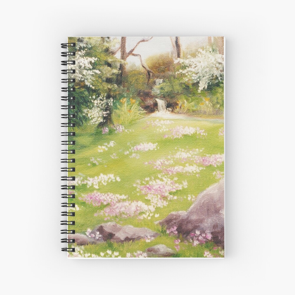 Primoses in Fairy Land Spiral Notebook