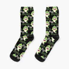 Grandpa shark - Thanksgiving, Christmas And Birthday Party Gift Ideas Socks