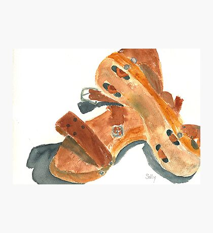 Kay's Wooden Rollerskates Photographic Print