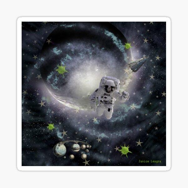 Space Dance Sticker