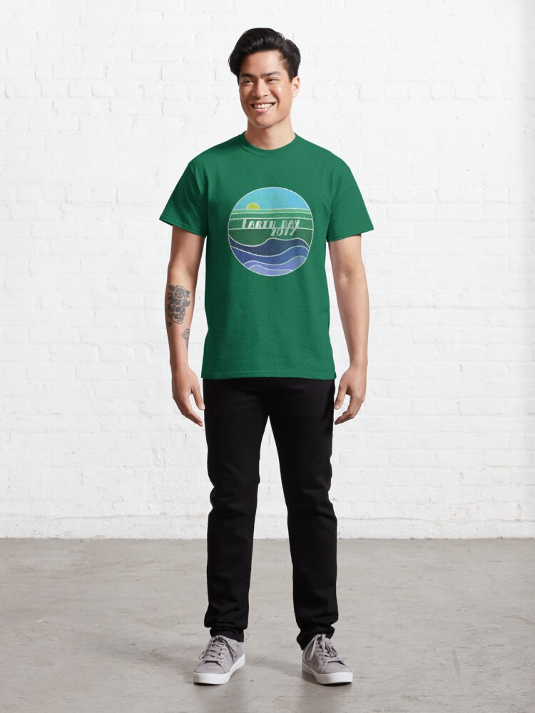 Alternate view of Earth Day 2017 Classic T-Shirt