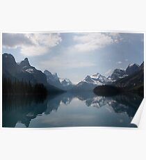 Canadian Rockies by Spirit Island Poster